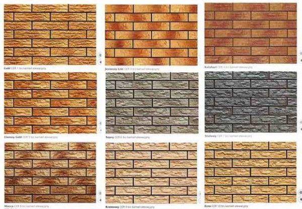 Cerrad paradyz 190 for Brick types and styles