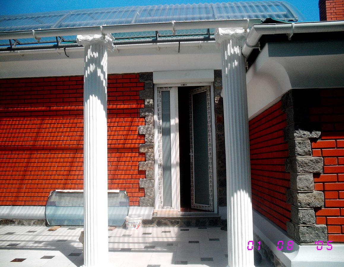 Центр новый кирп одноэтажный особняк 23*16м - 208кв м, прив уч 9 сот