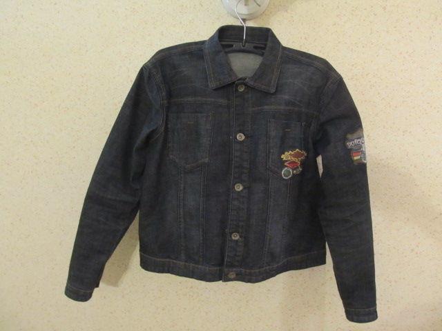 Стильная джинсовая куртка фирмы DJ-Dutchjeans на мальчика на р. 152 см