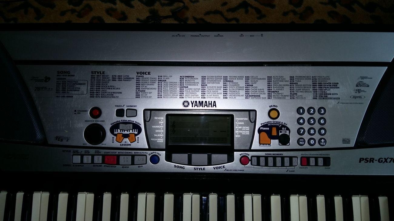 Фото 3 - Продам синтизатор Yamaha !