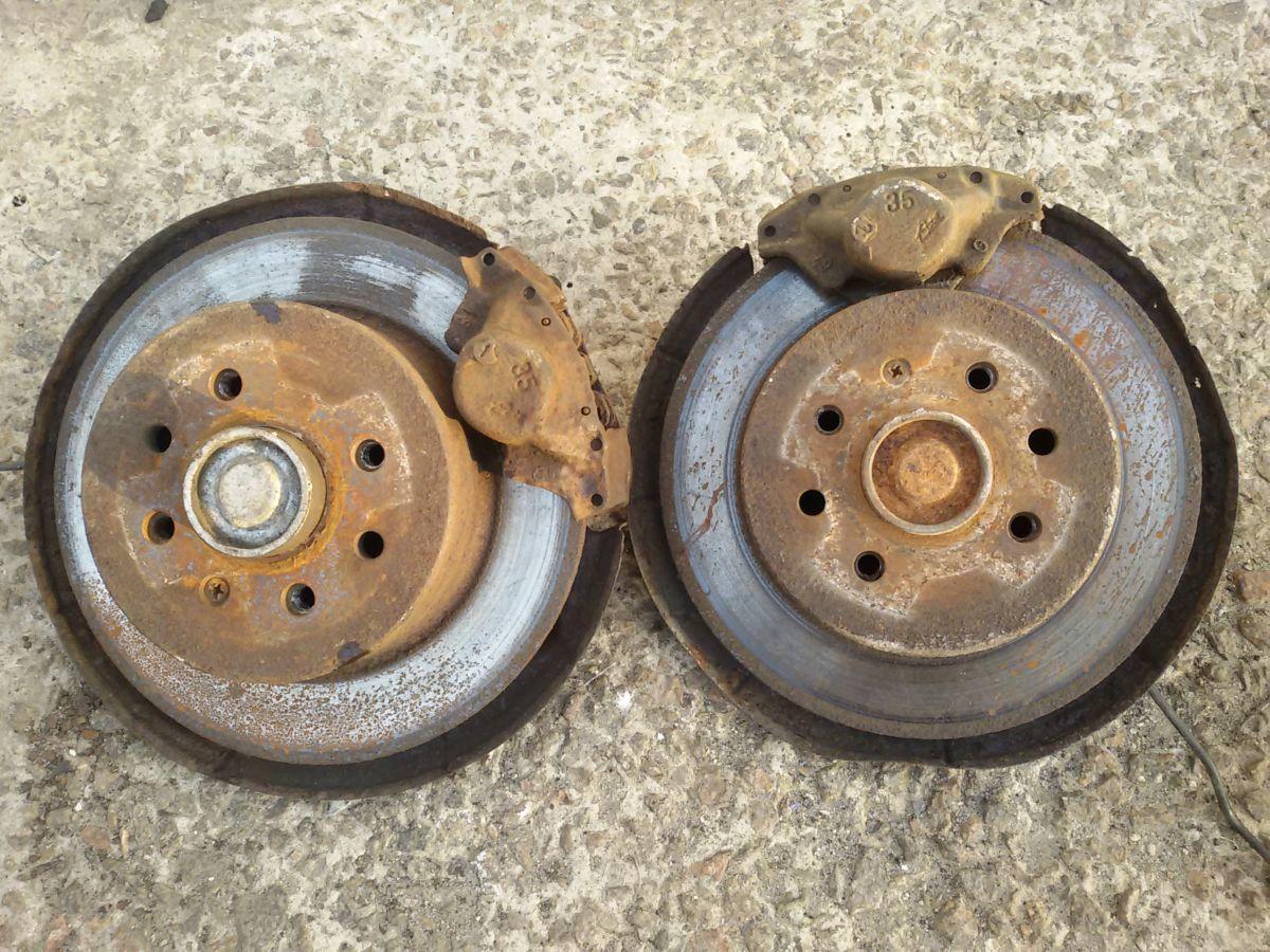Фото - Задние дисковые тормоза опель вектра Б