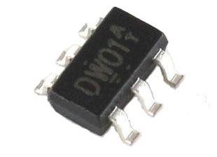 Фото - DW01A контроллер защиты li-ion, li-pol аккумулятора