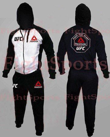 Фото - Спортивный костюм UFC REEBOK WHITE оплата при получении