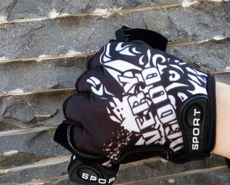 Мужские велосипедные перчатки.
