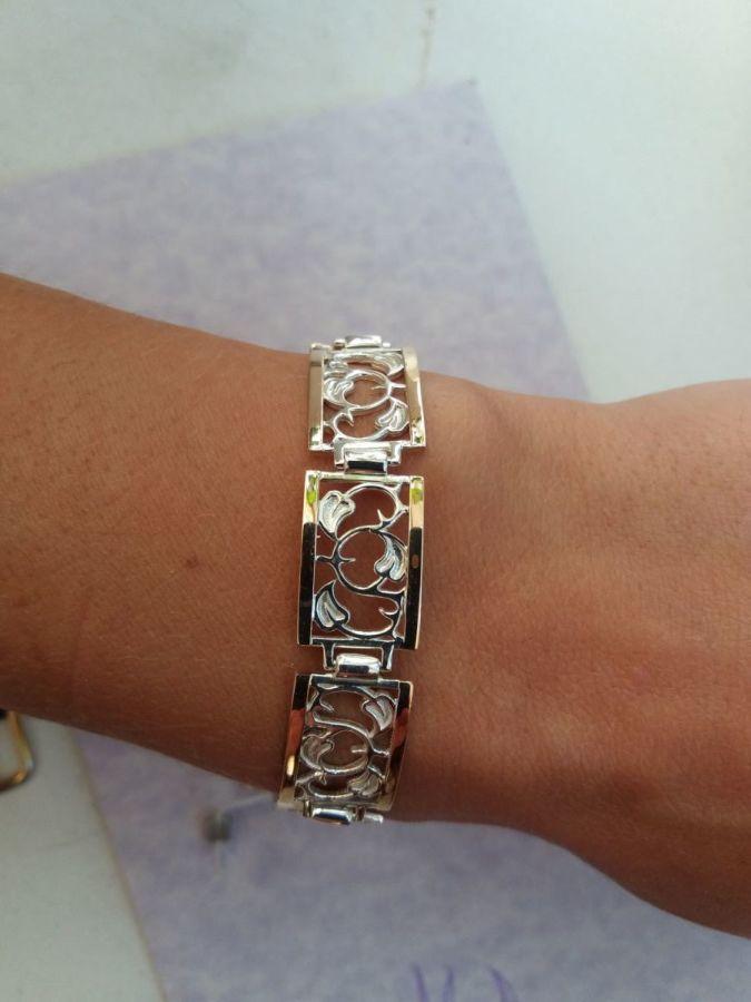 32825c06ab32 Купить сейчас - Женский браслет. Серебро и золото.: 2 850 грн ...
