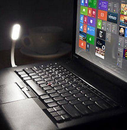 Фото 3 - Светодиодная USB лампа для подсветки клавиатуры