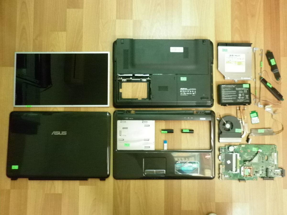 Разборка ноутбук Asus K51A
