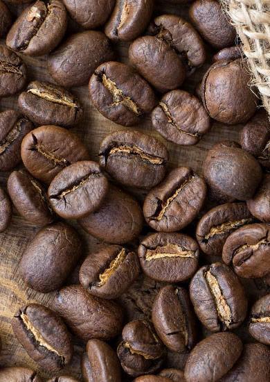 Натуральный кофе в зернах и молотый