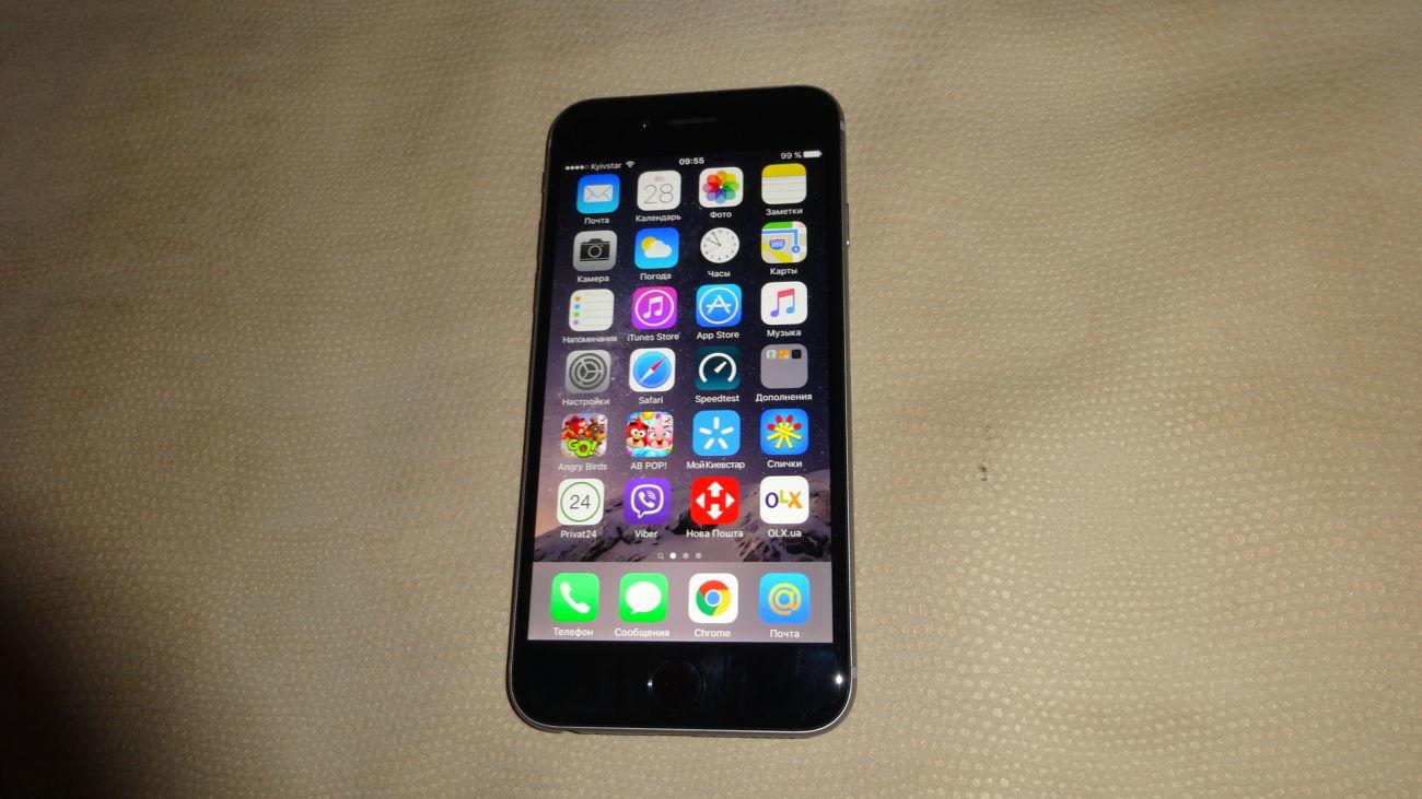 Фото - iPhone 6 16 Gb neverlock идеал