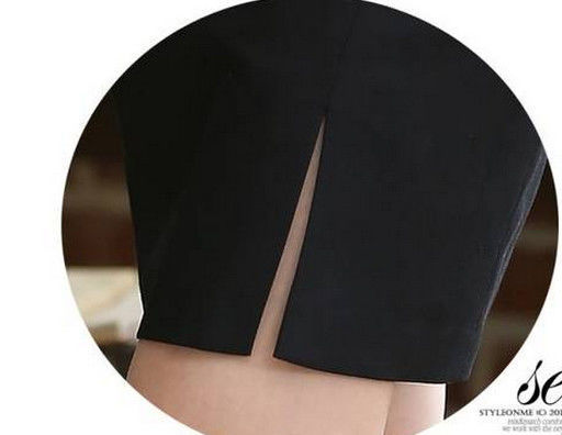 Фото 7 - Юбка черная с подкладкой - в наличии