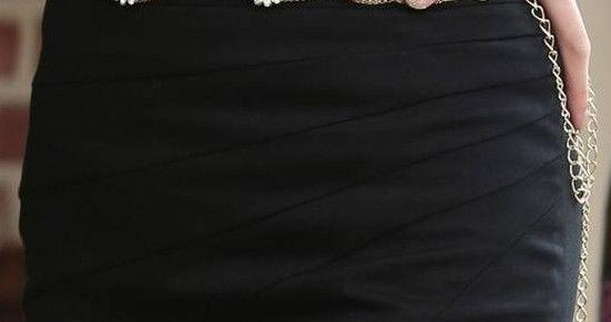Фото 5 - Юбка черная с подкладкой - в наличии