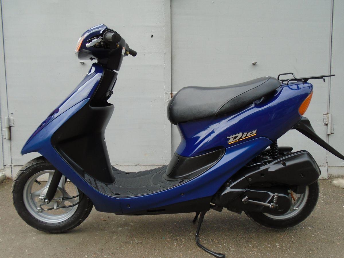 Фото - Honda Dio AF-34 Blue продам
