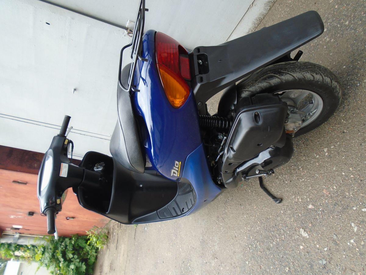 Фото 2 - Honda Dio AF-34 Blue продам