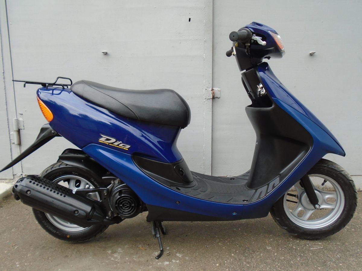Фото 8 - Honda Dio AF-34 Blue продам