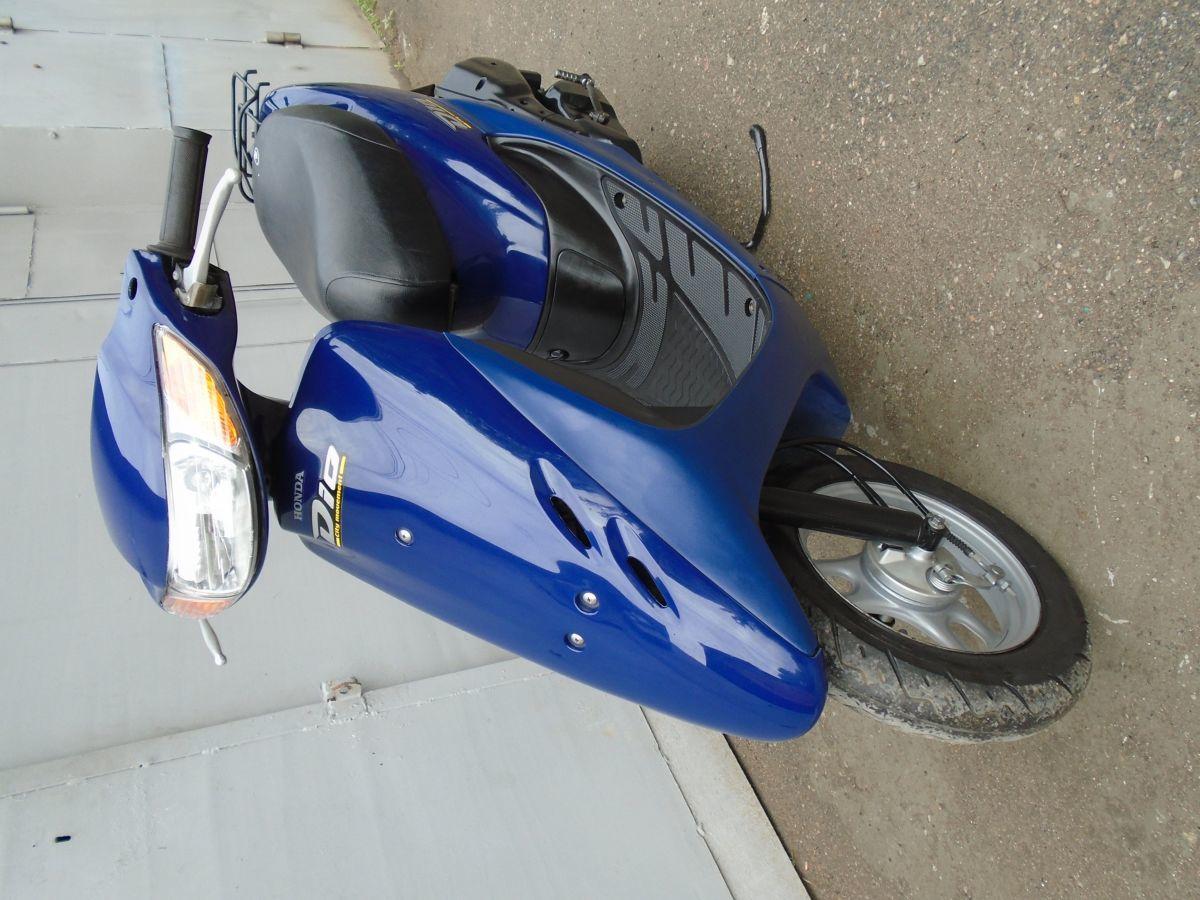 Фото 5 - Honda Dio AF-34 Blue продам