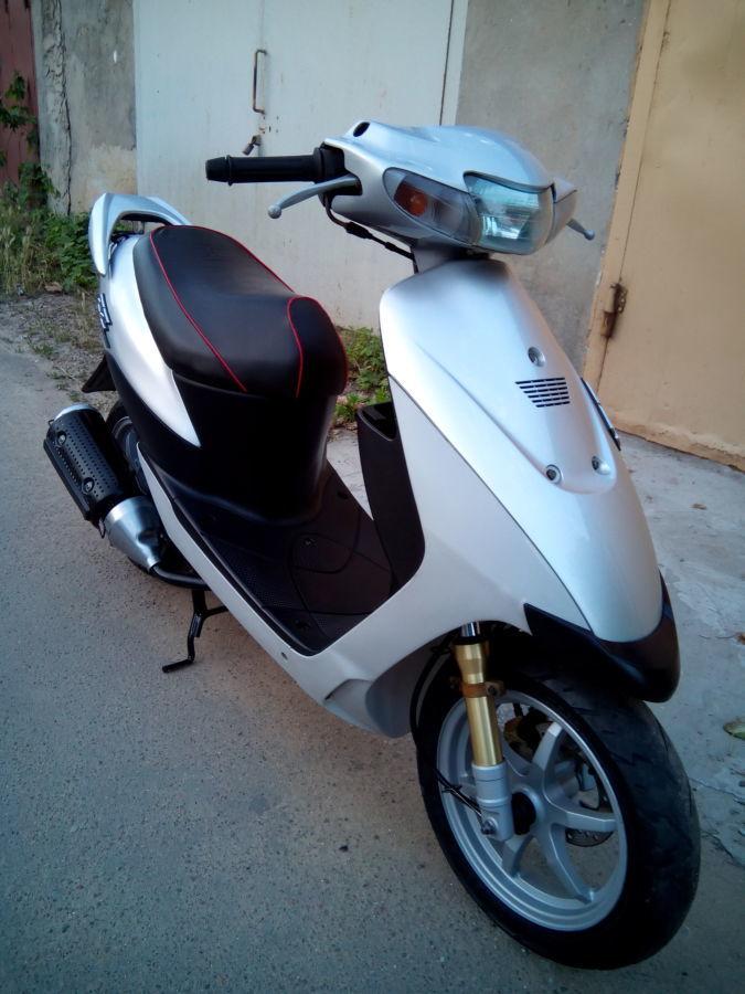 Фото 8 - продам скутер Suzuki ZZ Inch UP Sport