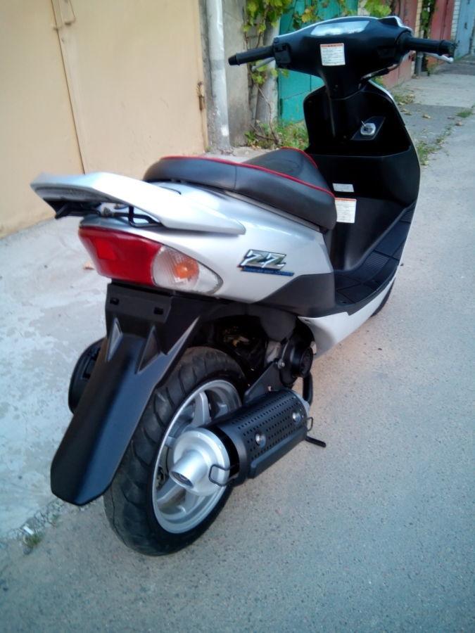 Фото 6 - продам скутер Suzuki ZZ Inch UP Sport