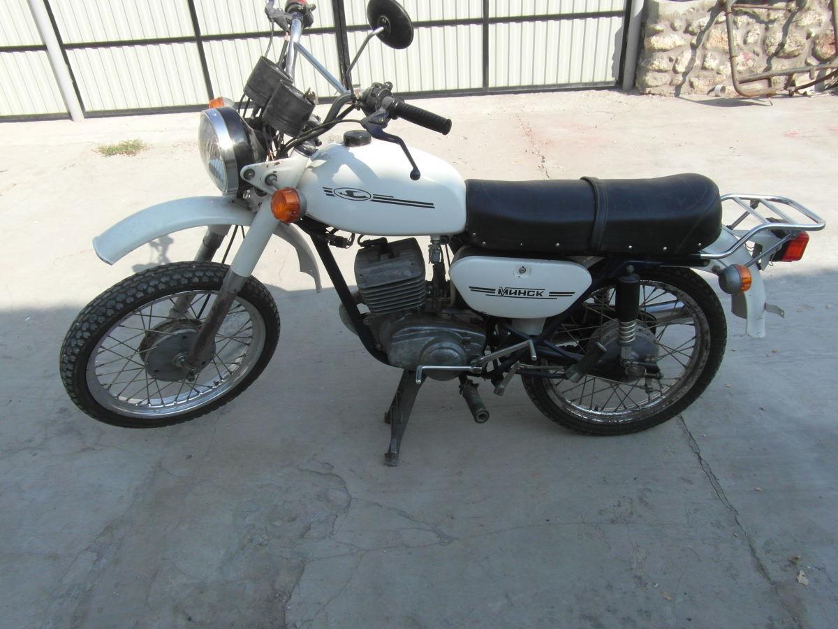 мотоцикл Минск пробег 500км