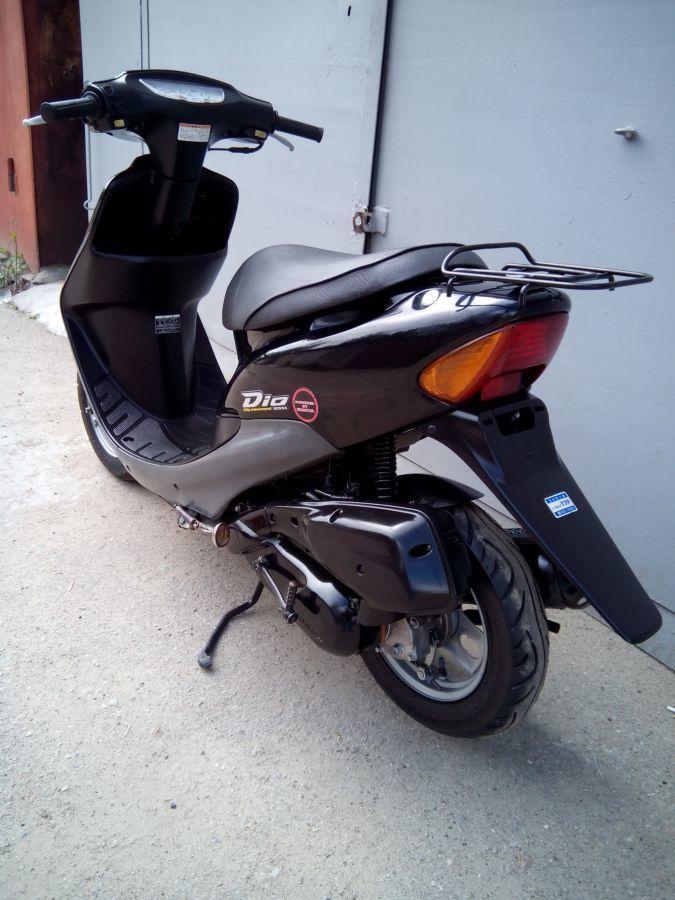 Фото 8 - скутер  Honda Dio AF-34