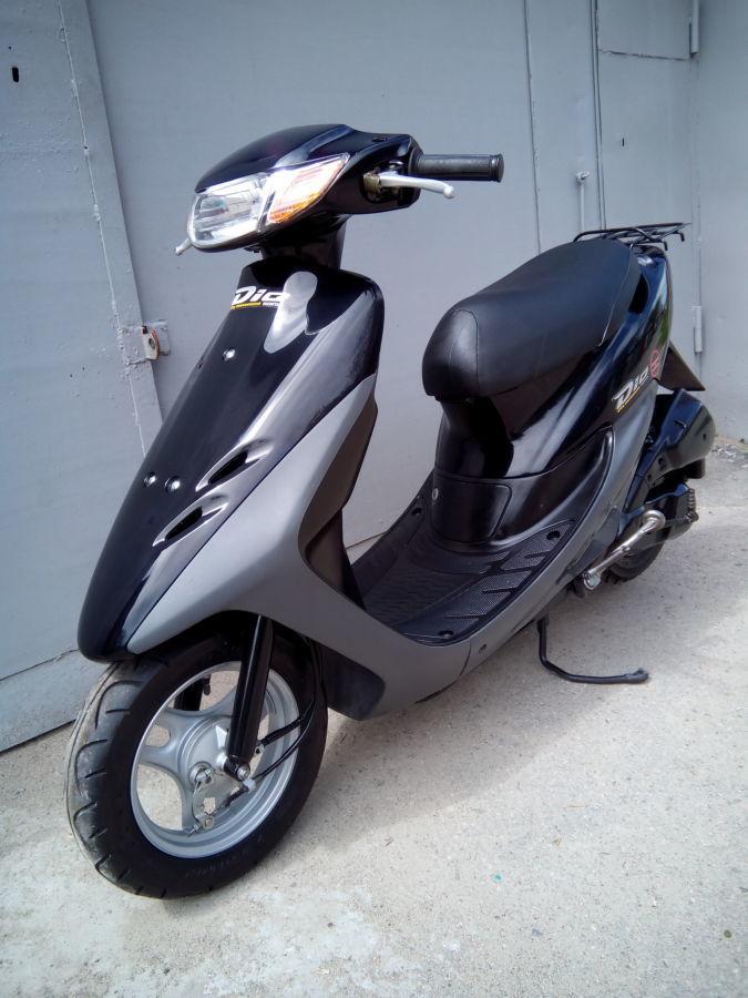 Фото 5 - скутер  Honda Dio AF-34