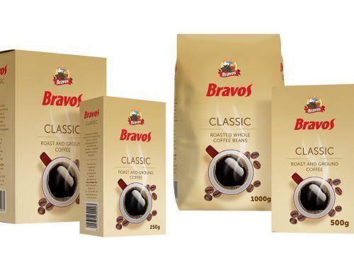 Кофе BRAVOS Classic зерно 1 кг. Есть опт!