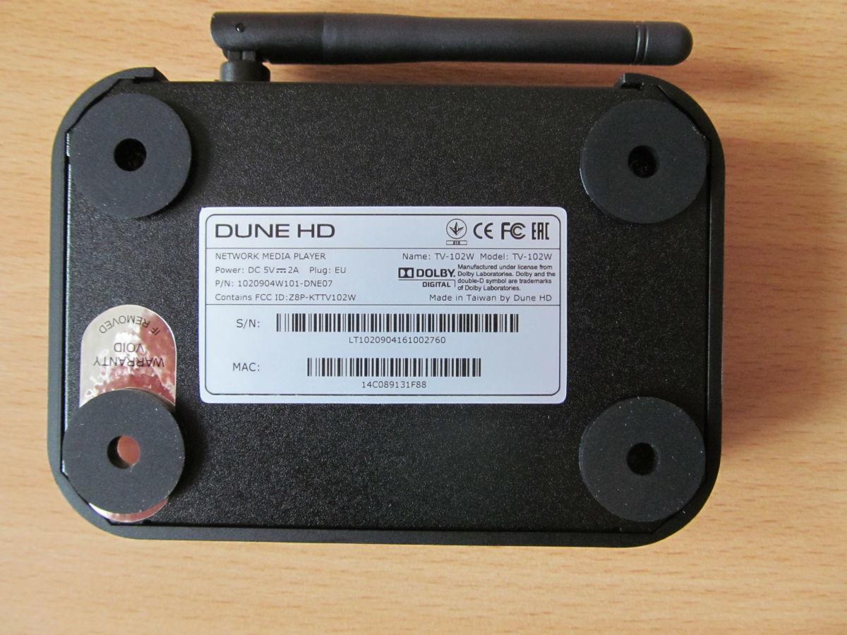 Фото 7 - HD-медиаплеер Dune HD TV-102W (новый, гарантия 12 мес)