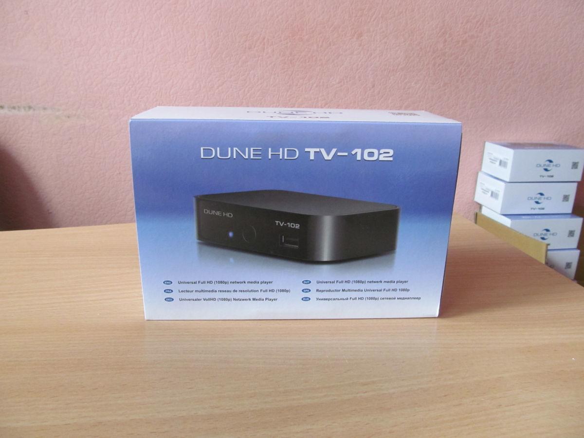 Фото 2 - HD-медиаплеер Dune HD TV-102W (новый, гарантия 12 мес)