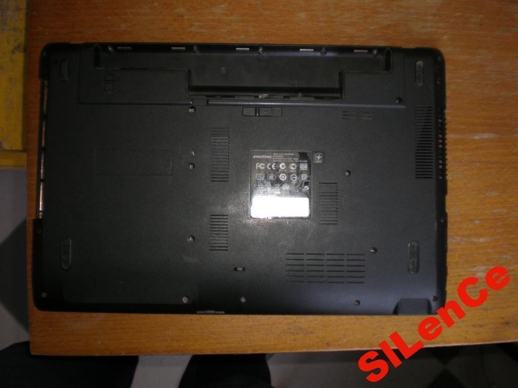 Корпус весь низ Acer eMashines 732G