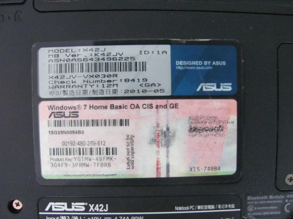 Фото 5 - Шара!Asus K42J i3-2.27Ghz/3Gb/60Gb/GT335 1Gb/Wn7