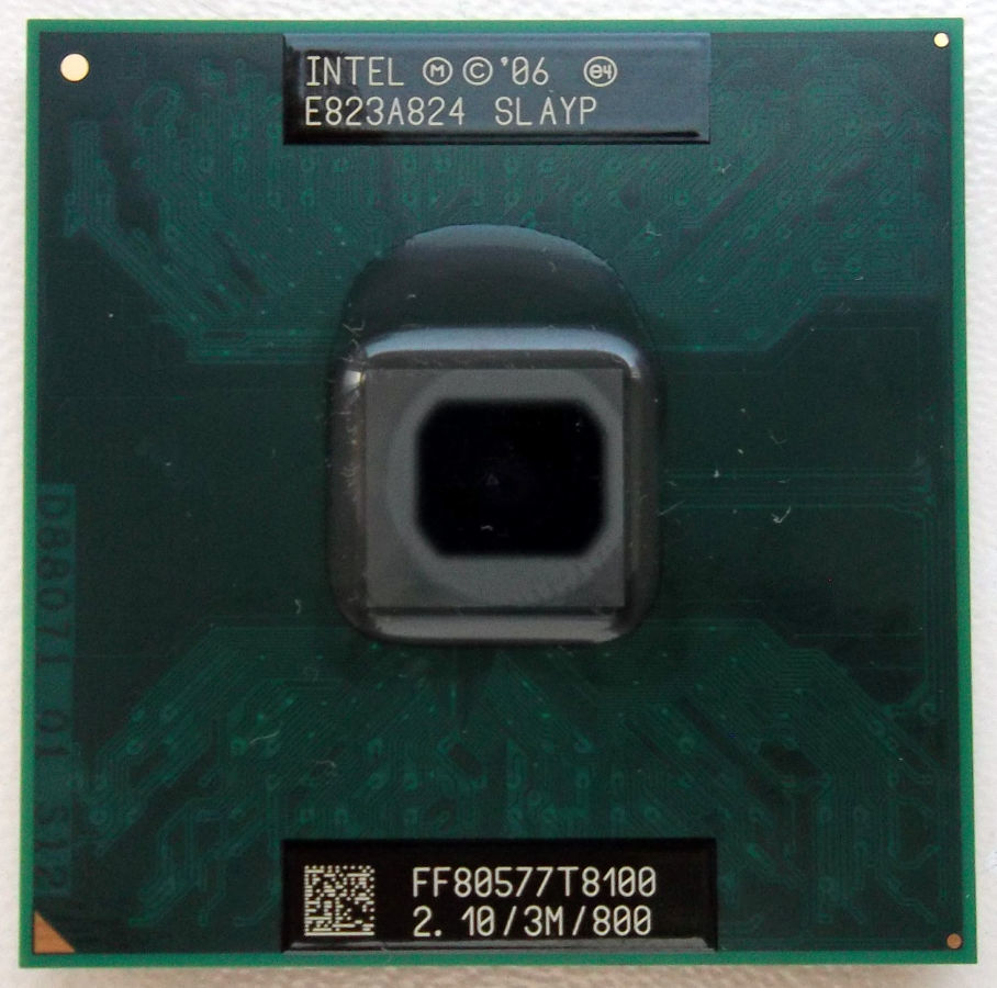 Фото - Intel Core 2 Duo T8100