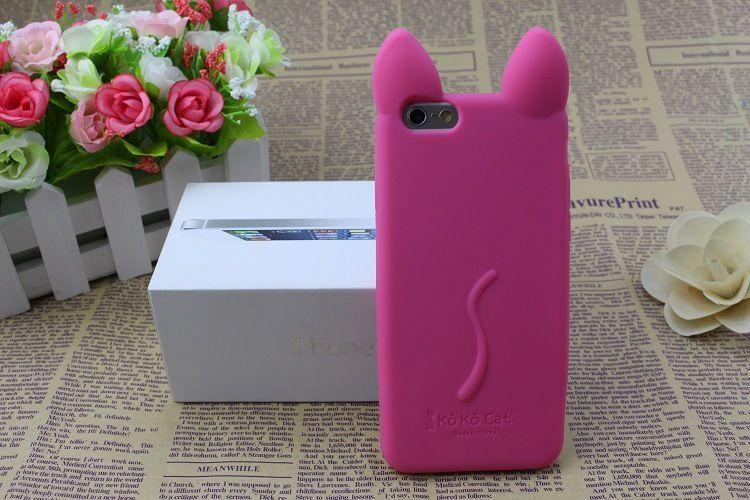 Фото 9 - Силиконовый чехол KoKo Cat для Iphone 6