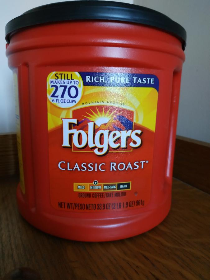 Кава мелена Folgers USA 961гр