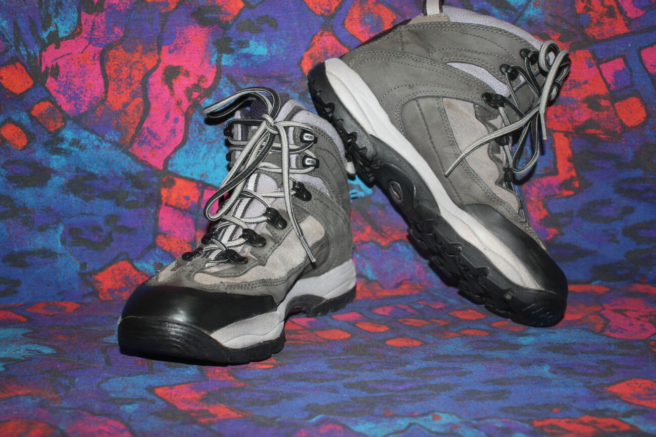Трекинговые кожаные ботинки Salomon,Contragrip,Gore-Tex,38 р,24.5 см
