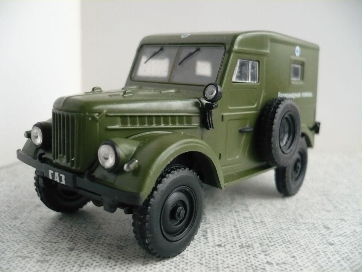 ГАЗ-69 ветпомощь– Модель 1/43 Автомобиль на службе №36