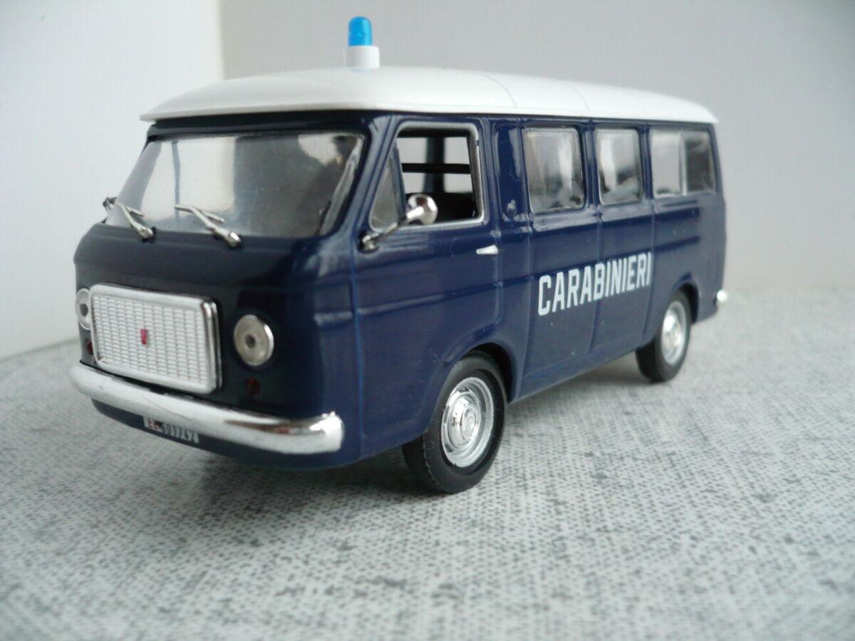 Fiat 238 – Модель 1/43 Полицейские машины мира №2