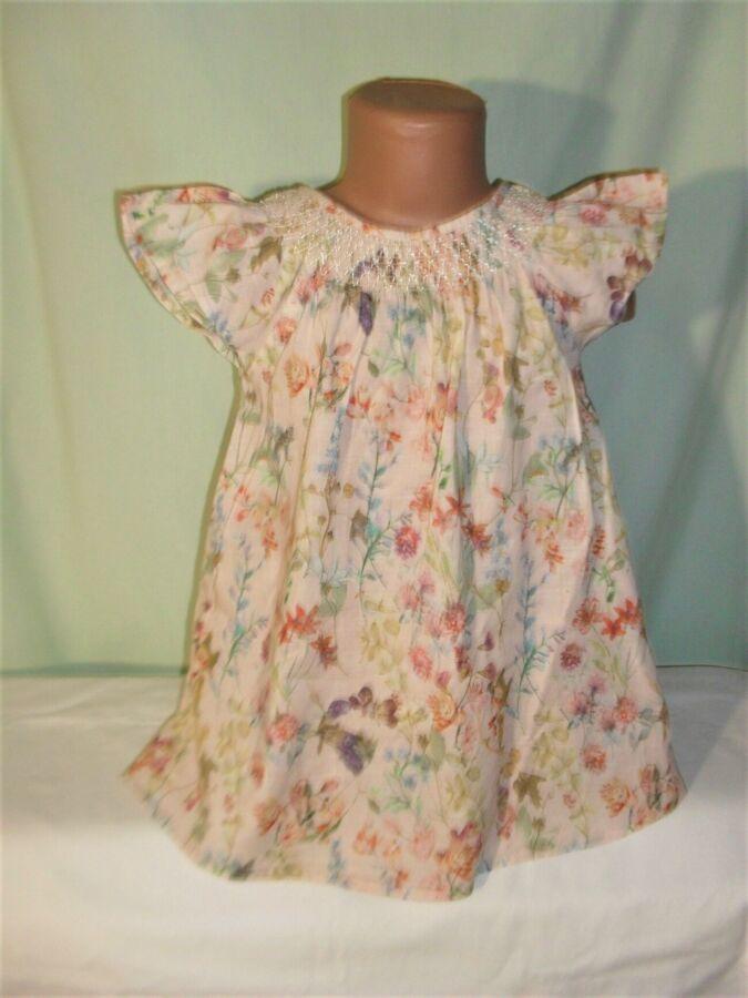 Легкое хлопковое платье на 2-3годика