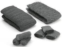 Стальная вата, шерсть, Steel Wool, 1 метр, (0, 00, 000, 0000, 0000+)