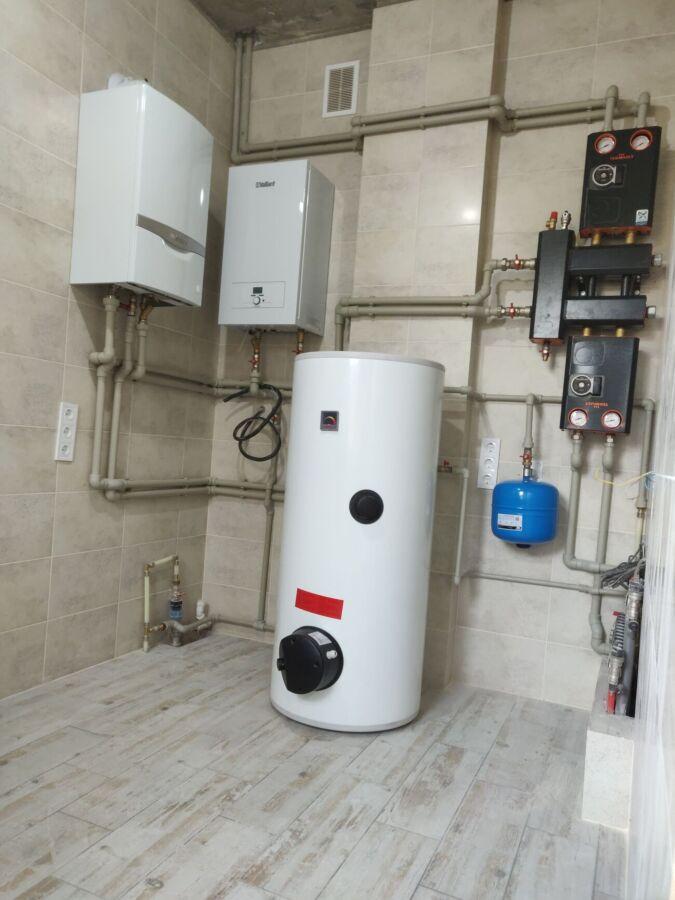 Монтаж систем опалення та комунікацій