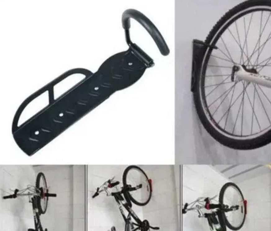 Крепление держатель велосипеда сталь крепится к стене