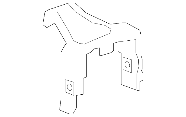 Нижний кронштейн отсека  Chevrolet Bolt Ev 42337987