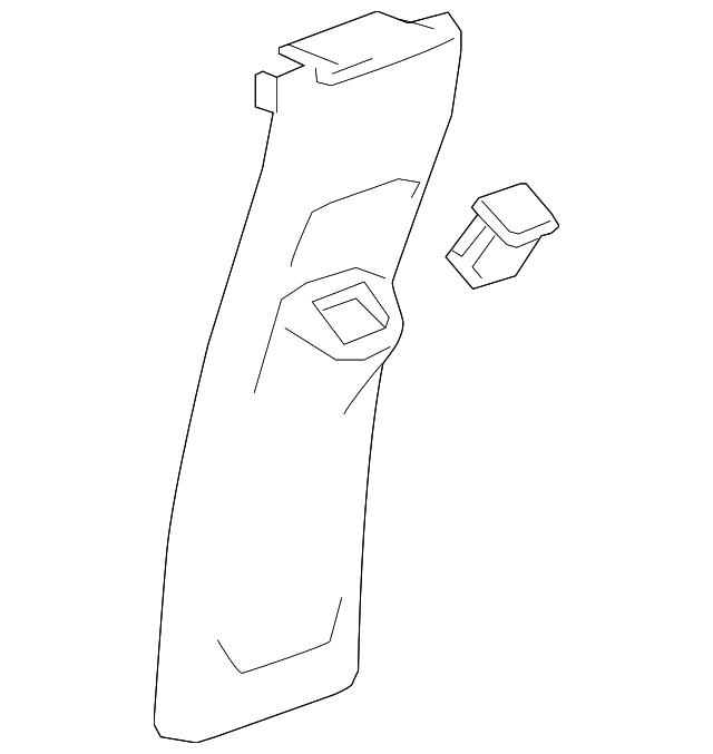 Задняя накладка Rear Trim Chevrolet Bolt Ev 42583462