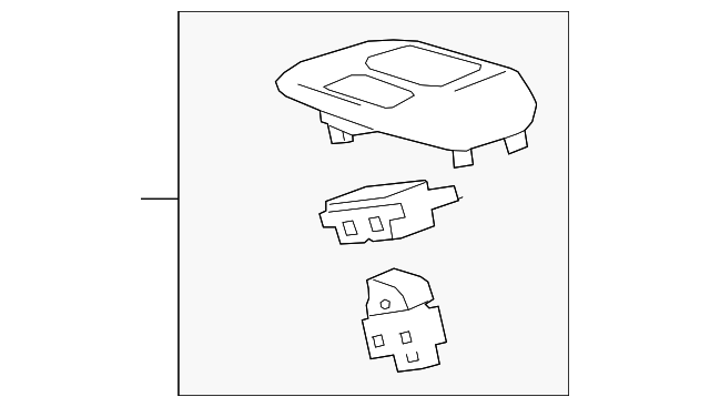 Накладка корпус консоли Shift Housing Chevrolet Bolt Ev 94515679