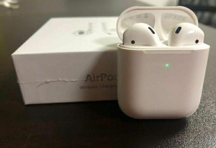Apple AirPods 2 - эирподс, эйрподс, беспроводные наушники,