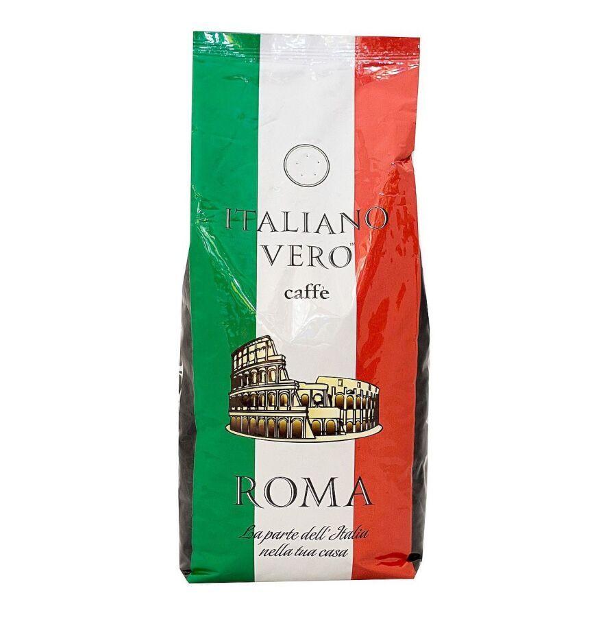 Кофе в зёрнах Italiano Vero Roma, 1 кг, Италия, опт, розница.