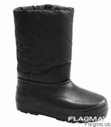 Сапоги дутые, зимняя рабочая обувь