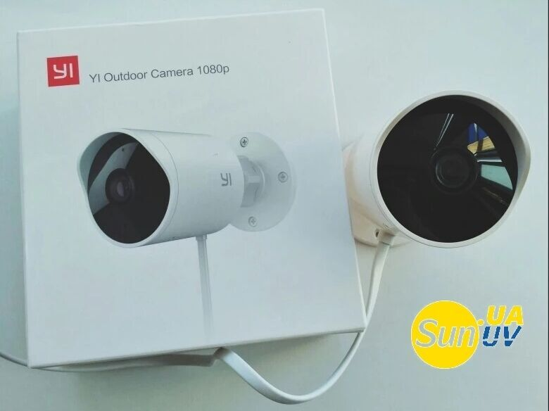 Original Xiaomi Yi Outdoor 1080 Smart IP Camera умная камера wi-fi