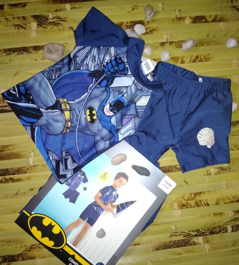 Купальный костюм marvel batman uv 50+ 74-80 и 98-104