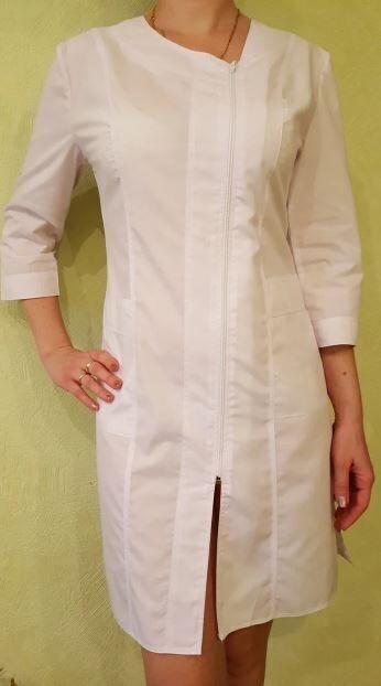 Медицинский халат Мимоза. Ткань батист.