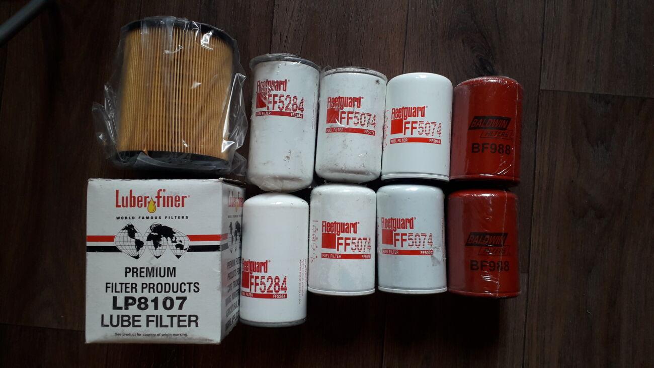 Топливные и масляные фильтра