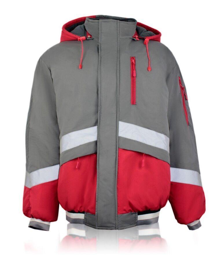 Зимняя укороченная куртка мужская